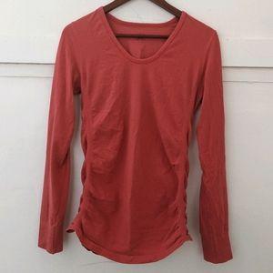 -Athleta- long sleeve workout shirt